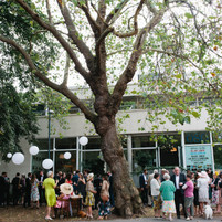 Welcome Reception on Green