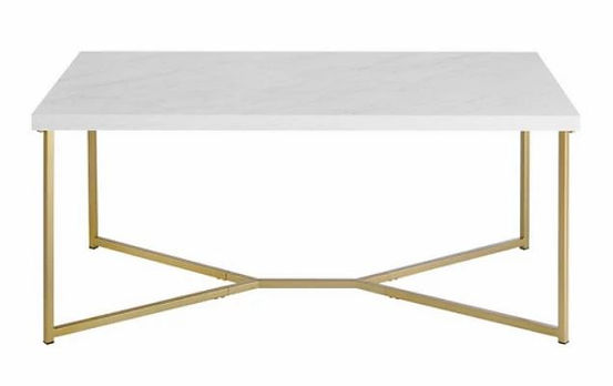 Gold & Marble Coffee Table.JPG
