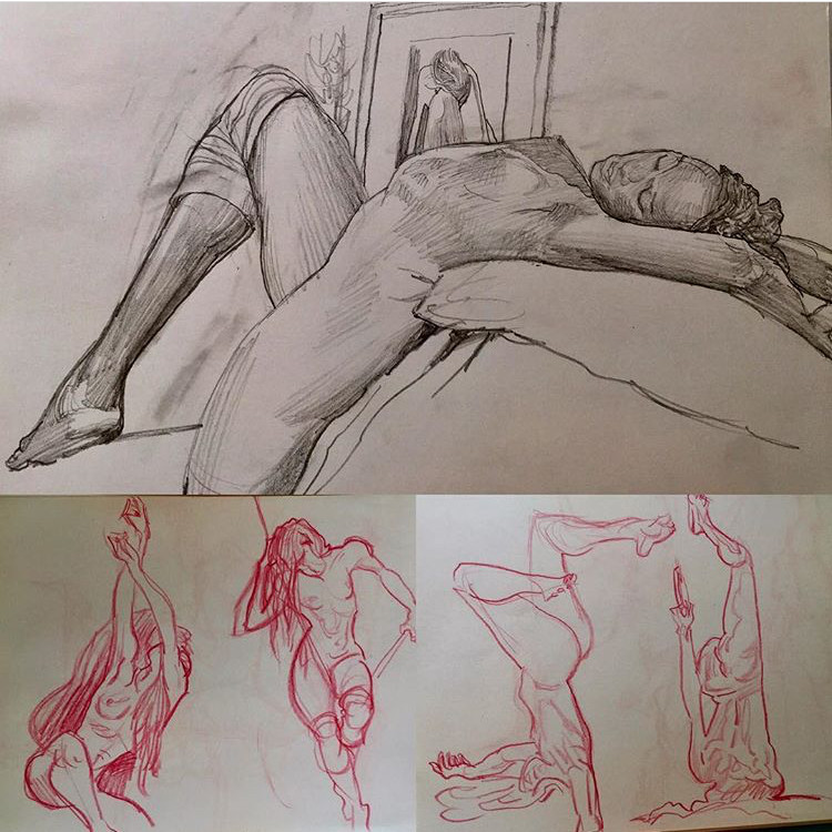 Figure Drawing Group (POSTPONED UNTIL FURTHER NOTICE)