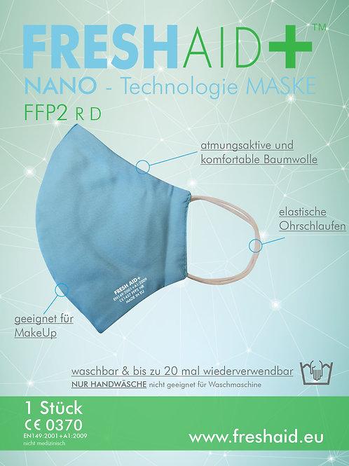 Fresh Aid+ FFP2 Soft Nano-Mask hellblau