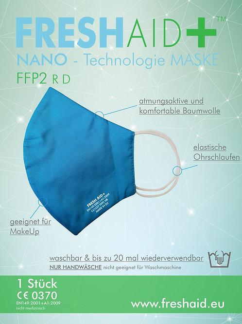Fresh Aid+ FFP2 Soft Nano-Mask blau