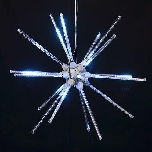 "LED 24"" ANIMATED STARBURST (WHITE)"