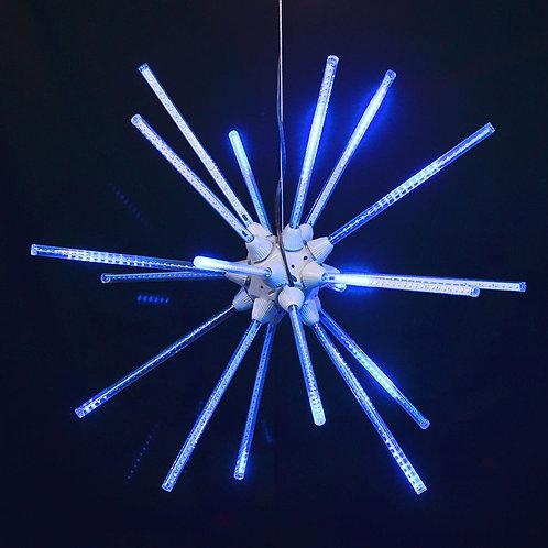 """LED 24"""" ANIMATED STARBURST (BLUE)"""
