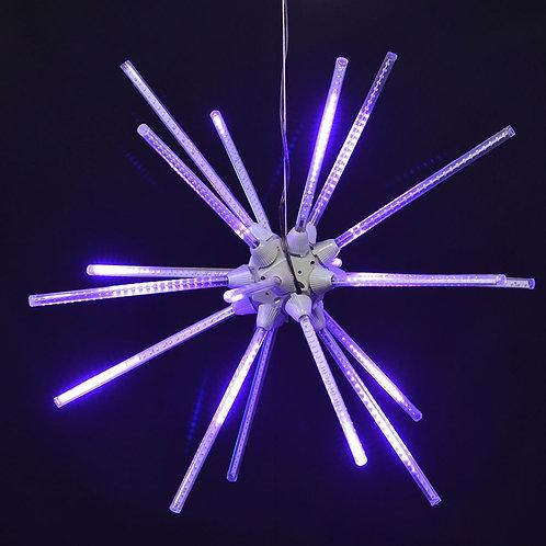 """LED 24"""" ANIMATED STARBURST (PURPLE)"""