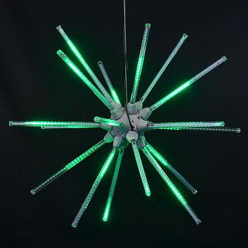 "LED 24"" ANIMATED STARBURST (GREEN)"