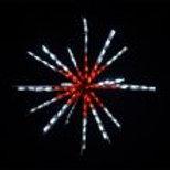 """LED 34"""" STARBURST (RED/WHITE)"""