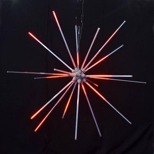 """LED 48"""" ANIMATED STARBURST (RED)"""