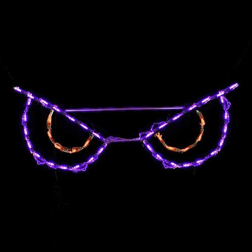 LED SPOOKY EYES (ORANGE)