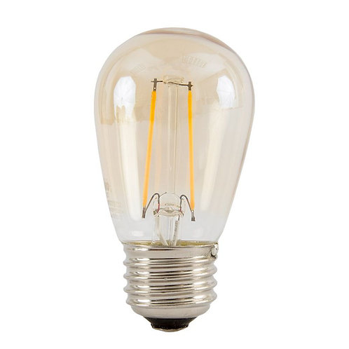 S14 LED BISTRO 12V 1W ANTIQUE