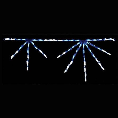 LED STARBURST LINKABLE (BLUE/WHITE)