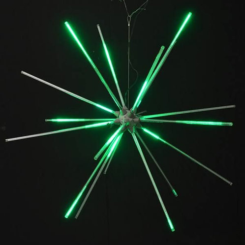 "LED 48"" ANIMATED STARBURST (GREEN)"