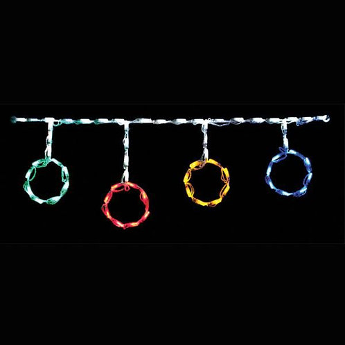 LED ORNAMENT ROD FREESTYLE LINKABLE (MULTI)