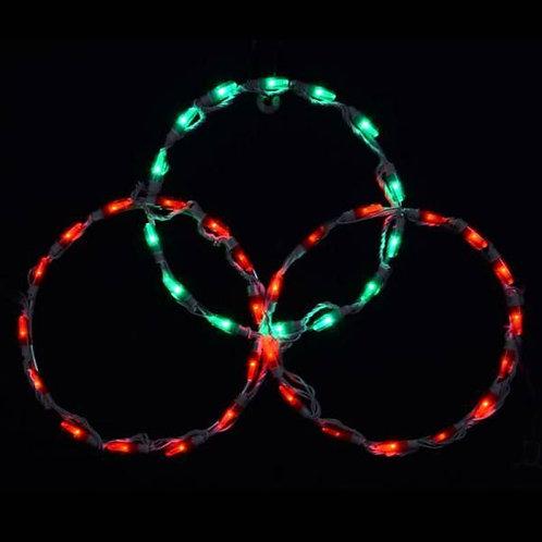 LED 3 R/G CIRCLE PEAK TOPPER