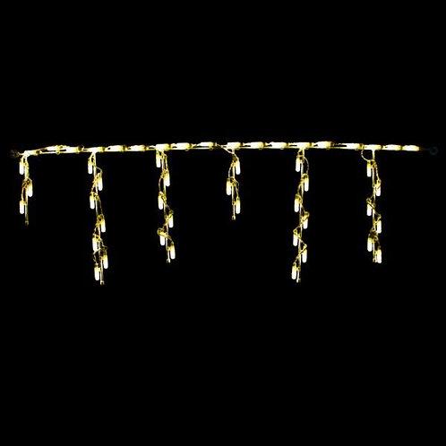 LED STEEL ICICLE FREESTYLE LINKABLE (WARM WHITE)