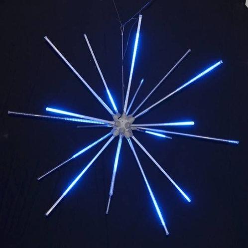 """LED 48"""" ANIMATED STARBURST (BLUE)"""