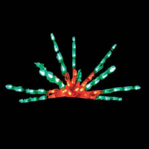 LED FLAT STARBURST (RED/GREEN)