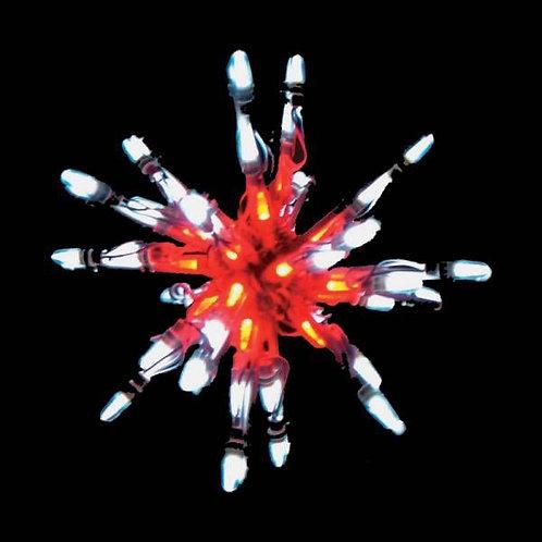 """LED 12"""" STARBURST (RED/WHITE)"""