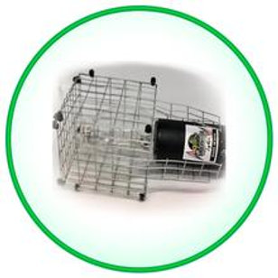 Protective Cage for Underwater Green Fishing Lights