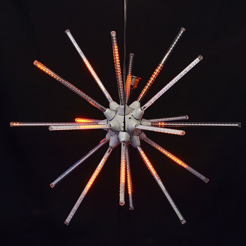 """LED 24"""" ANIMATED STARBURST (ORANGE)"""