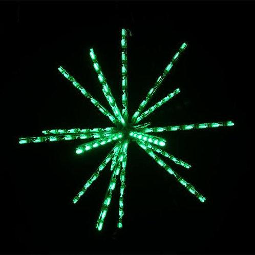 """LED 34"""" STARBURST (GREEN)"""