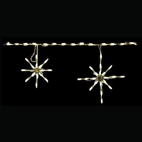 LED SNOWFLAKE FREESTYLE LINKABLE (WARM WHITE)