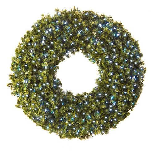 "LED 60"" WREATH CONCAVE (WHITE)"
