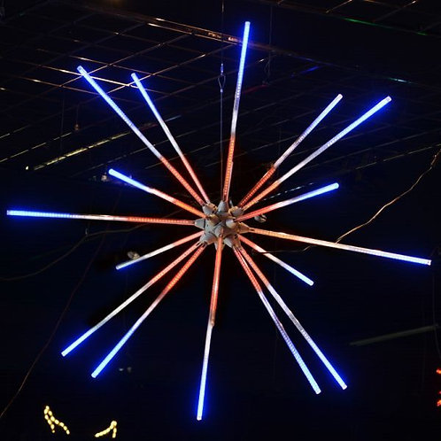 """LED 48"""" ANIMATED STARBURST (RED, WHITE, AND BLUE)"""