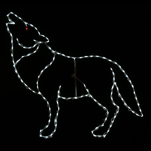 LED HOWLING WOLF