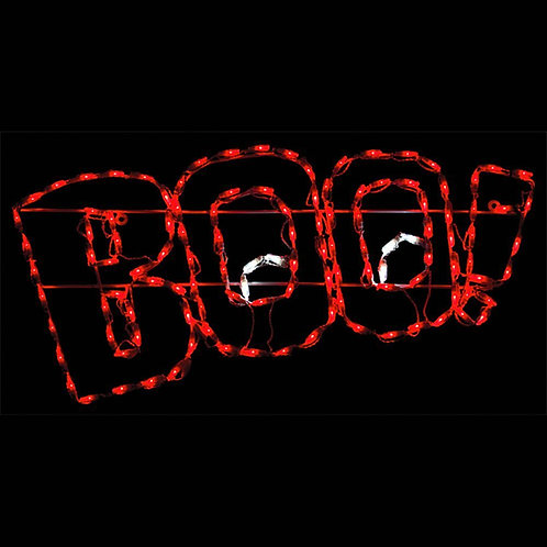 LED BOO SIGN