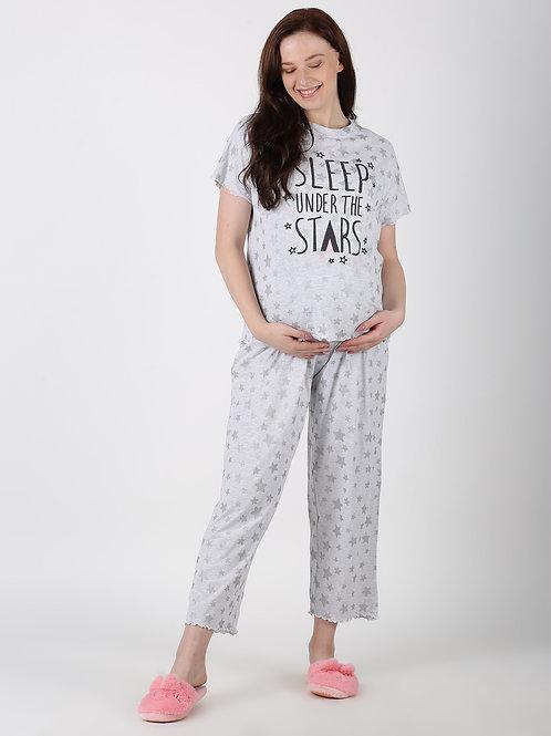 """Sleep under the star""s T shirt & Pyjama Set"