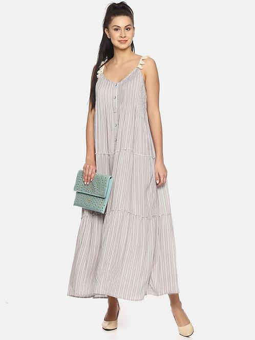 Viscose Long Maxi Dress