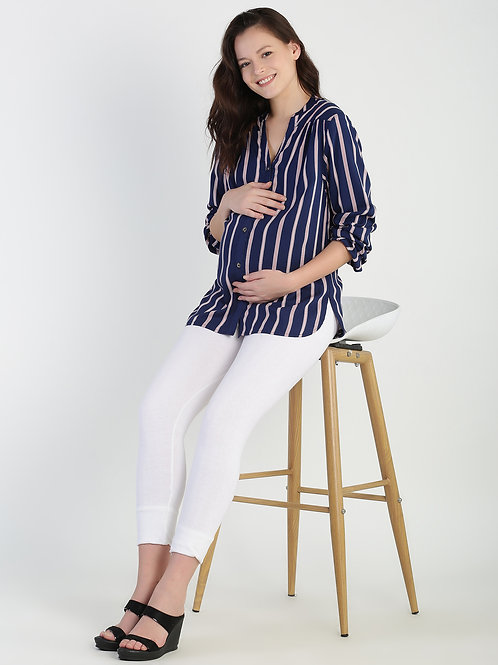 Stripe Shirt, Color Navy