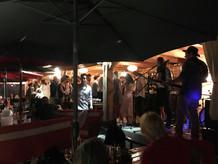 Concert sur la plage au Lavandou à