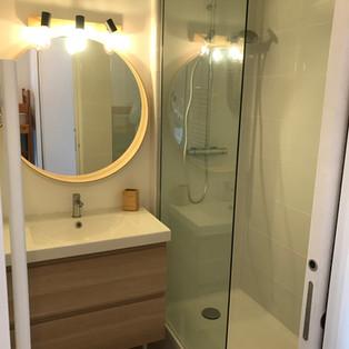 Salle de bain à Cavalière