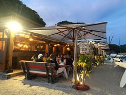 Restaurant de plage au Lavandou