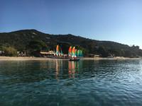 La Voile de Cavalière vue de la mer
