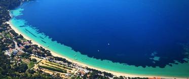 La magnifique Baie de Cavaliere