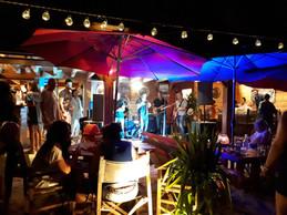 Concert sur la plage à Cavalière de Da Boogie Pop