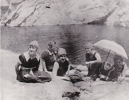 1918 Bathing Beauties at Swallows Nest.J