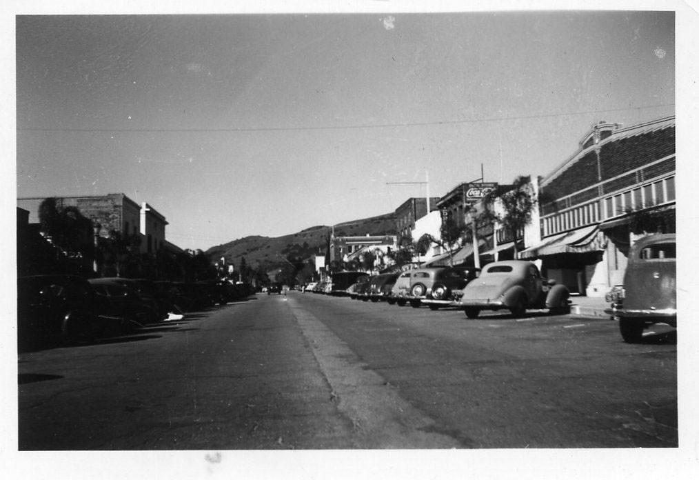 Central Avenue circa 1935