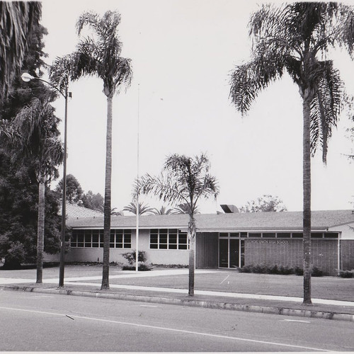 Current High School Administration Building