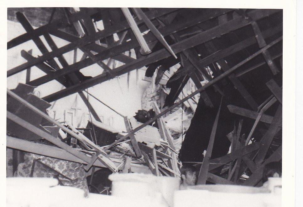 1971 Quake Damage to Shirley's Clothing