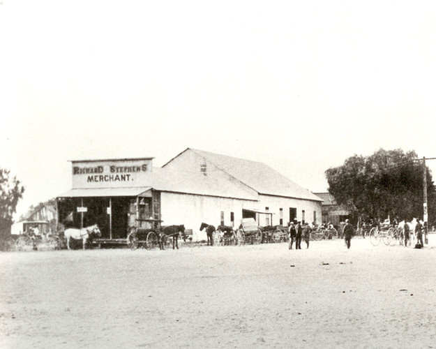 Early mercantile store
