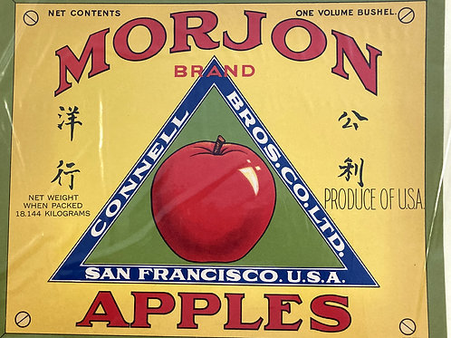 Morjon Crate Label - Connell Bros. Co. Ltd. - Fancy for Export