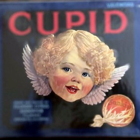 Cupid Brand Crate Label from Fillmore Citrus Association