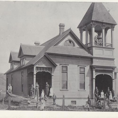 Moutain View School c 1892