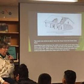 Martha presenting St Francis Dam.jpg