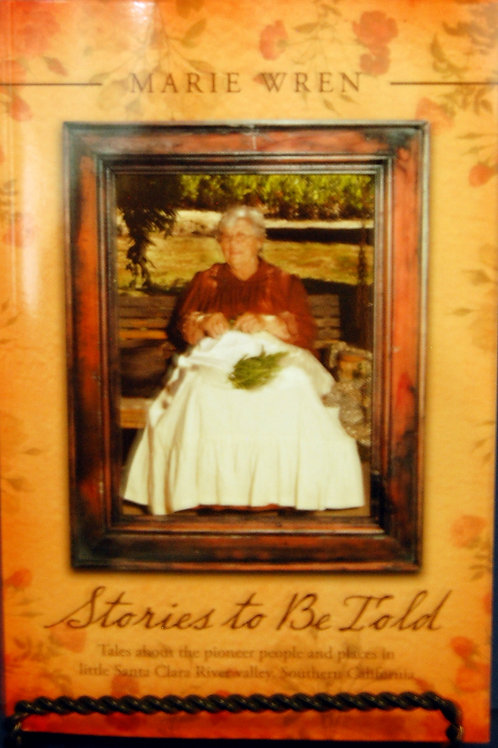 Stories to be Told by Marie Wren