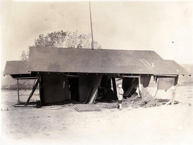 1928 St. Francis Dam Basolo House