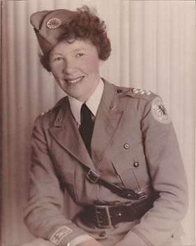 Lt. Col Harriett E. Weaver, Area Command